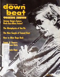 jimi hendrix magazine 1968/down beat june 13 1968