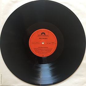jimi hendrix vinyls collector/ jimi plays monterey   / side 1 : germany