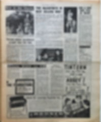 jimi hendrix collector newspaper/new musical express 2/12/1967 ad concerts