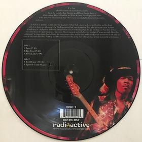 jimi hendrix bootleg vinyl album picture disc/volume 1 side b
