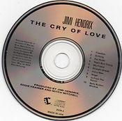 jimi hendrix cd album/cry of love /  1989