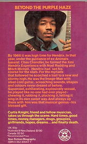 jimi hendrix book collector/jimi by curtis knight/star book london 1975