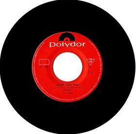 jimi hendrix vinyl single/spanish castel magic  japan