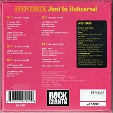 jimi hendrix bootlegs cds 1969/  hendrix jimi rehearsal
