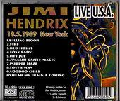 jimi hendrix rotily CD LIVE USA