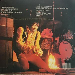 jimihenrix bootlegs vinyls/james marshall midnight lightning 1989