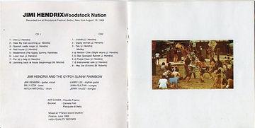 jimi hendrix bootlegs cd album / woodstock nation
