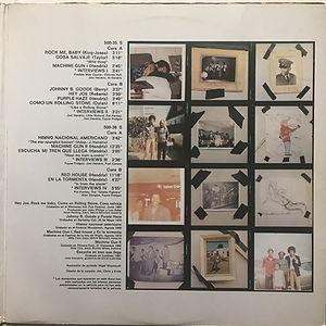 jimi hendrix vinyl album /jimi hendrix banda sonora original de la pelicula 1973