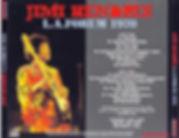 jimi hendrix bootlegs cds 1970 / l.a forum 1970