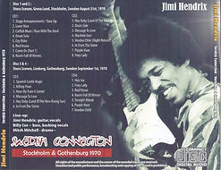 jimi hendrix bootlegs cd /  sweden connection 4cd