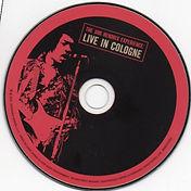 jimi hendrix bootleg cd/live in cologne dagger records