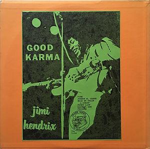 jimi hendrix bootlegs vinyls 1970 / good karma 1  tmoq
