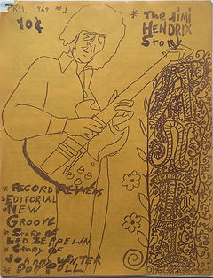 jim hendrix magazine 1969/anti april 1969