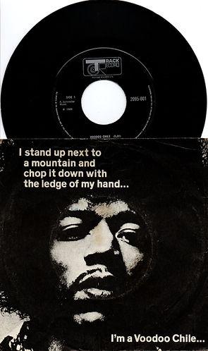 jimi hendrix collector EP/maxi singles/voodoo chile 1970 england track records