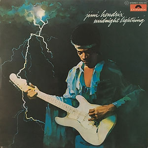 jimi hendrix vinyl album midnight lightning  / 1975 spanish