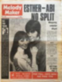 jimi hendrix newspaper collector/melody maker july 6 1968