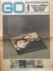 jimi hendrix newspaper/go  may 3 1968