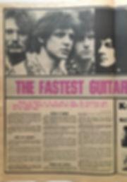 jimi hendrix newspaper/go set may 15 1968