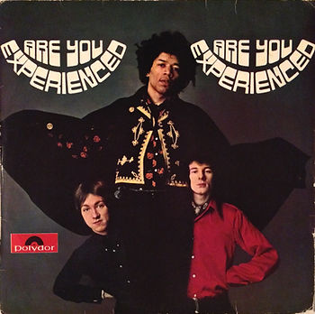 jimi hendrix rotily vinyls lp / are you experienced new zealand 1967