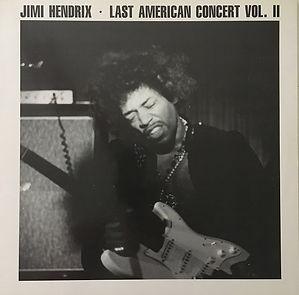 jimi hendrix bootlegs vinyls 1970 / swingin' pig :  last american concert vol 2