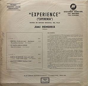 jimi hendrix vinyl album/experience argentina 1971