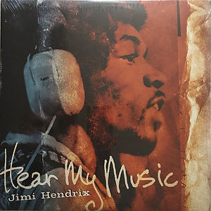 jimi hendrix vinyls bootlegs lp album/hear my music: dagger records   2004