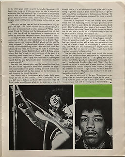 jimi hendrix magazine 1968/guitar player december 1968