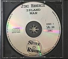 jimi hendrix bootlegs cd / island man disc 1