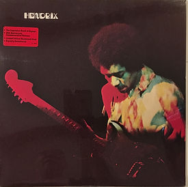 jimi hendrix collector vinyls LPs/albums/band of gypsys 25th anniversary commemorative release  usa 1995