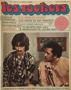 jimi hendrix collector magazine/les rockers 14/11/67