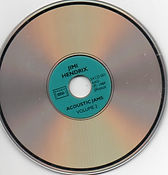 jimi hendrix bootlegs vinyls/acoustic jams vol 2  1989