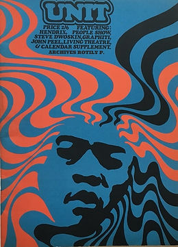 jimi hendrix magazine/unit february 1968