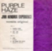 hendrix rotily /purple haze hey joe