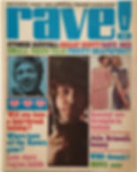 jimi hendrix magazine /rave  july 1968