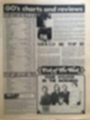 jimi hendrix newspaper/go october 4 1968/top 20 albums