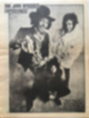 jimi hendrix newspaper 1969/helix may 1969
