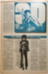 jimi hendrix newspaper 1969//go set march 5 1969 jimi in 3-D /part 1