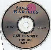 jimi hendrix bootleg cd /disc 1 stone free