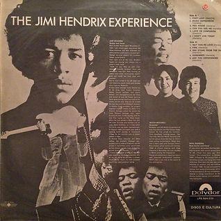 jimi hendrix rotily vinyls lp/ are you experienced brazil 1970