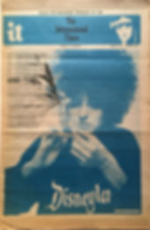 jimi hendrix newspapers/it international times 5/1/1968