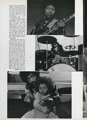 jimi hendrix magazines 1970 death : vikan  october 22, 1970