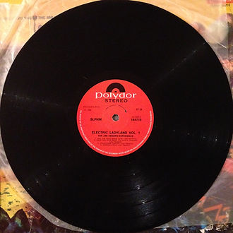 jimi hendrix vinyls album/vol1 side 2  electric ladyland south africa
