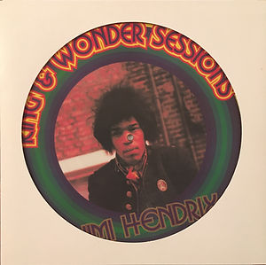 jimi hendrix collector bootlegs records lp vinyls picture disc/king wonder sessions ho boy records 1994