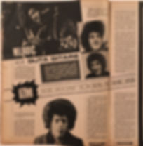 jimi hendrix collector magazine/dzuboks yougoslavia 1967 magazine hendrix article/photo