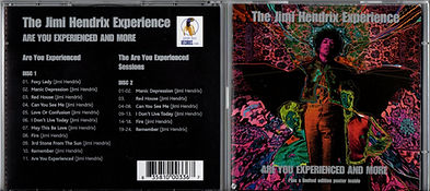 jimi hendrix collectorcd bootlegs/2cd/are you experienced and more/purple haze records