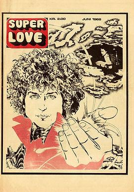 jimi hendrix newspaper 1968/superlove june 1968