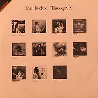jimi hendrix collector/ cover successo /electric ladyland  1988