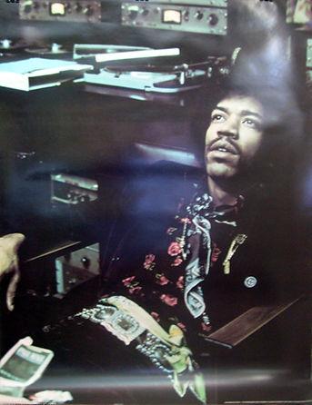 jimi hendrix poster 1972