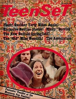 jimi hendrix collecto magazine/teenset october 1967