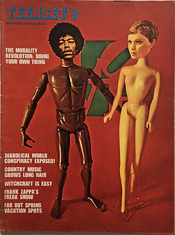 jim hendrix magazine 1969 march/teenset